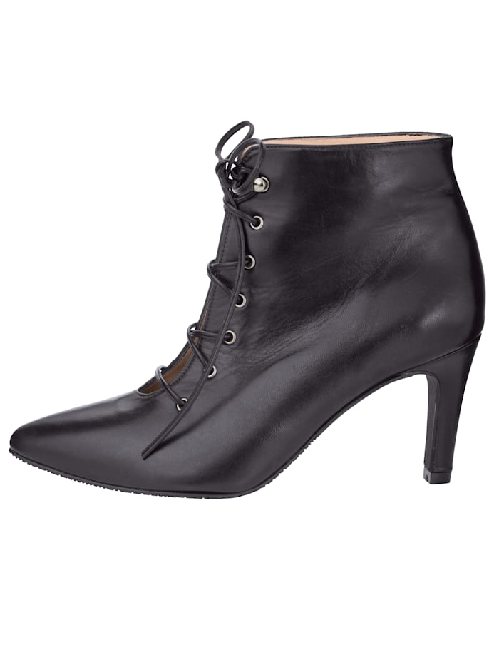 Lace-up Boots in high-quality nappa leather