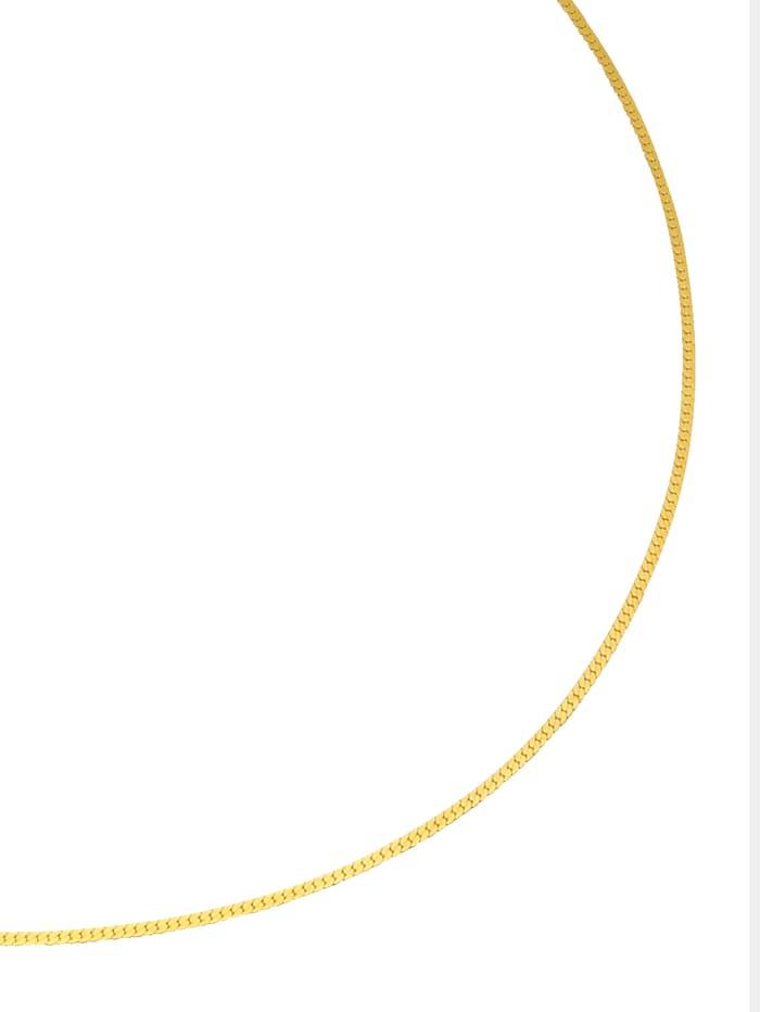 KLiNGEL Chaîne à mailles plates, Coloris or jaune