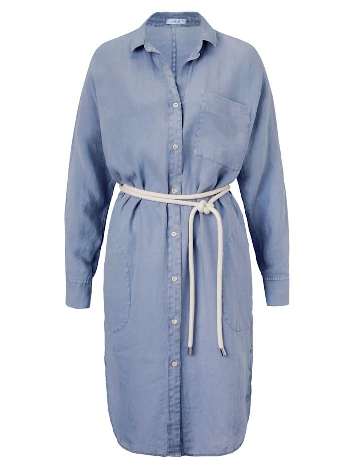 REPLAY Blusenkleid, Jeansblau