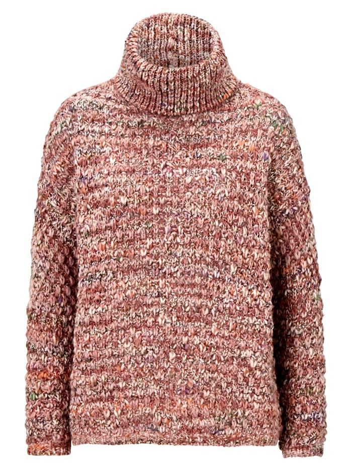 REKEN MAAR Pullover, Altrosa