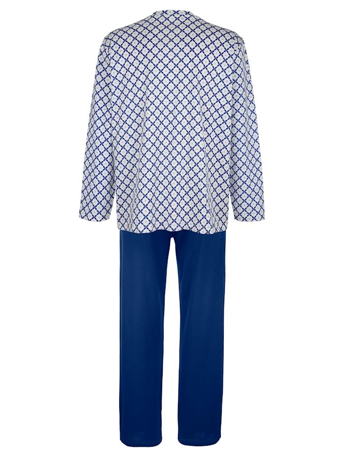 Pyjama en coton mercerisé