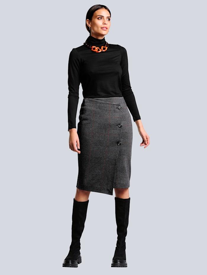 Sukně módní károvaný vzor