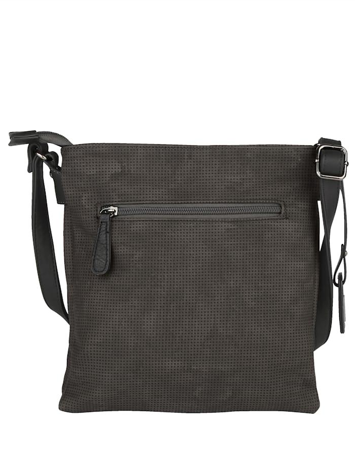 Shoulder bag embellished with precious ornamental stones