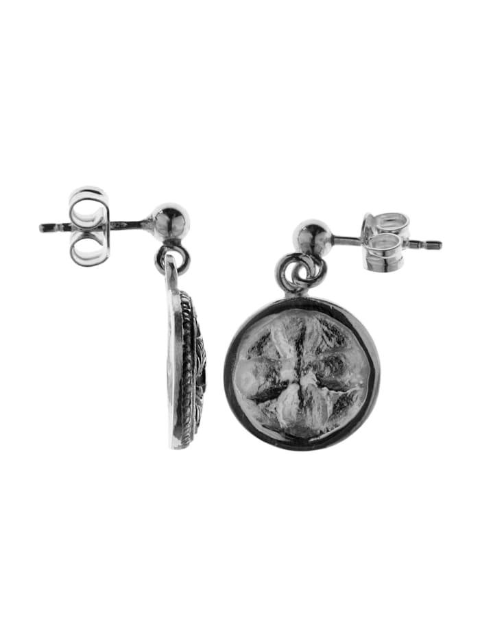 Ohrhänger - Hiddensee 13 mm rund - Silber 925/000 - ,