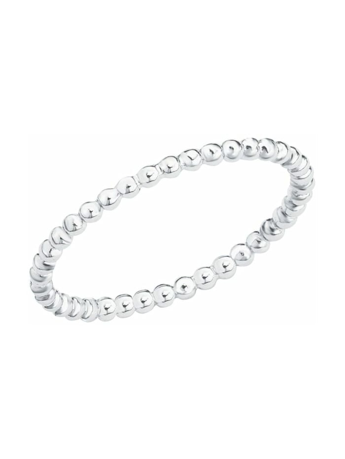 s.Oliver Ring für Damen, Sterling Silber 925, Silber