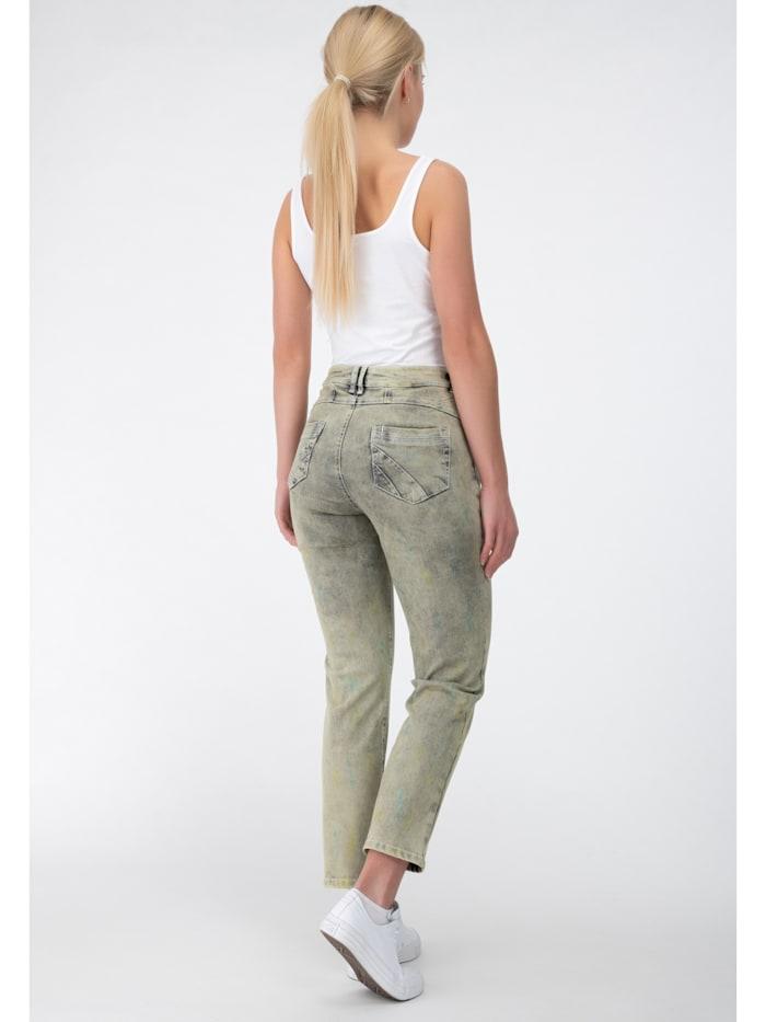 Jeans in Batikoptik
