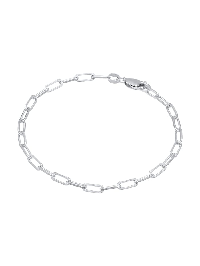 Armband Glieder Oval Basic Chain Optik 925 Silber