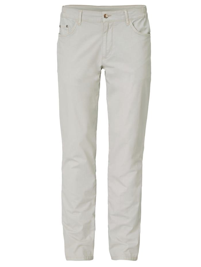 BABISTA Pantalon à empiècements extensibles à la ceinture, Mastic
