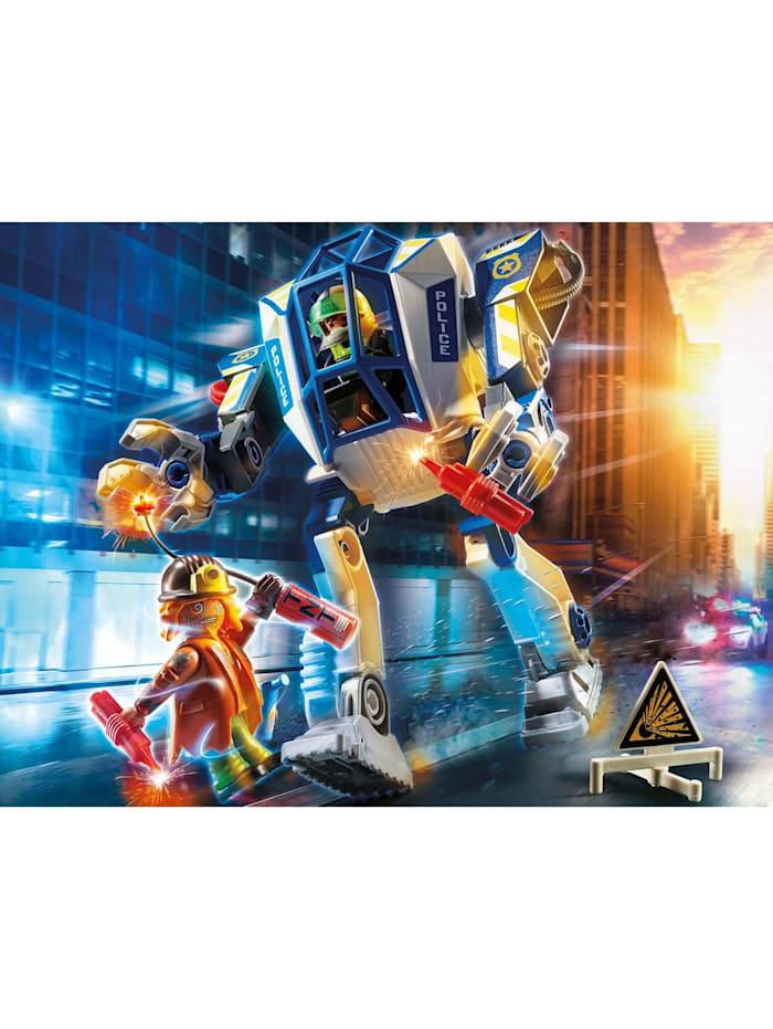 Konstruktionsspielzeug Polizei-Roboter: Spezialeinsatz