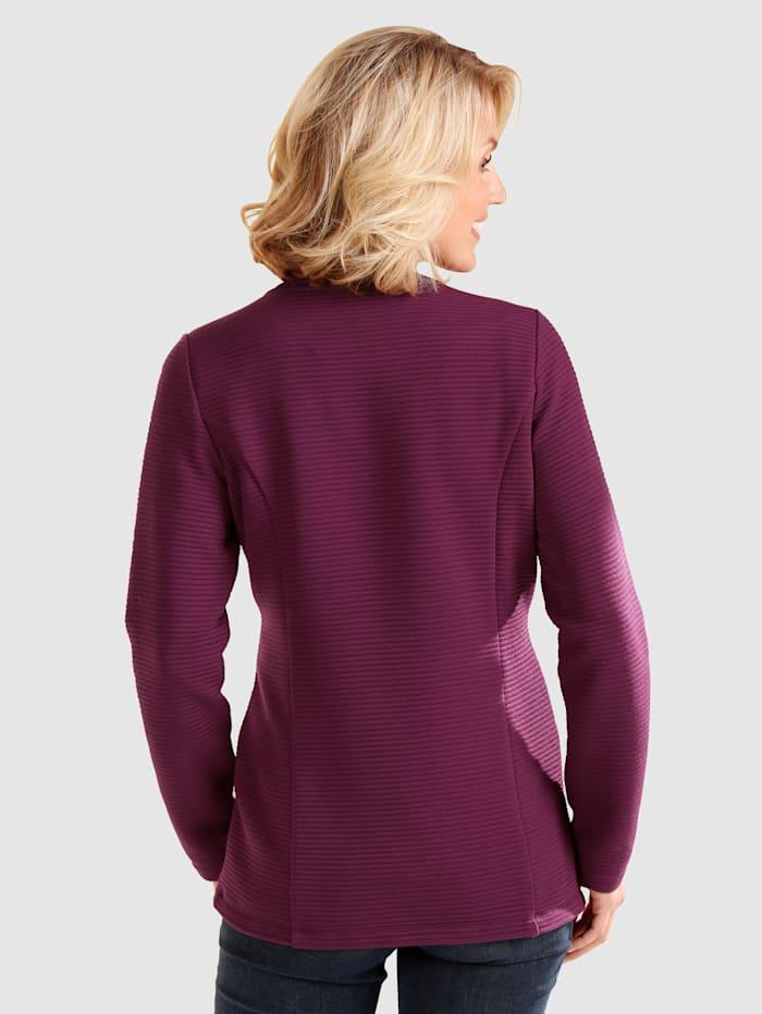 Shirtjacke mit Reißverschluss