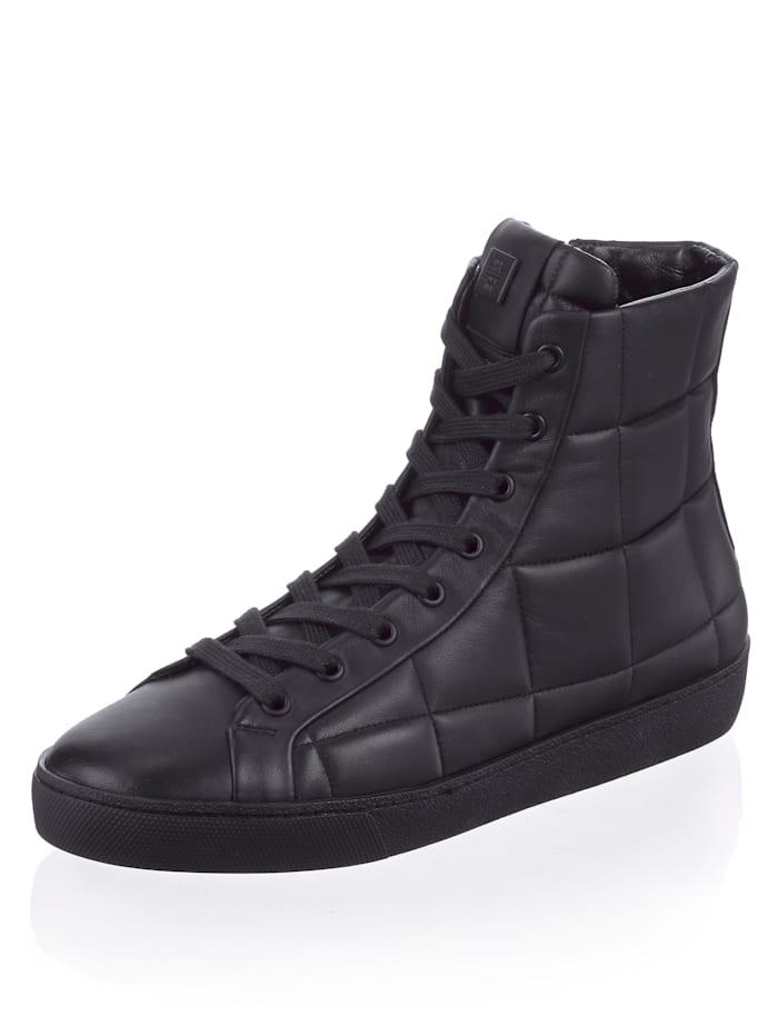 Högl Sneaker in Hightop-Form, Schwarz
