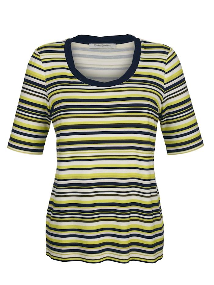 Shirt met klassiek streeppatroon