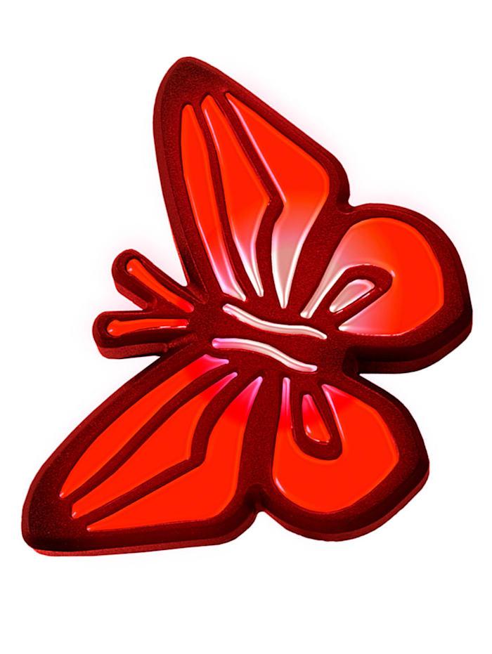 4 solcelldrivna trädgårdslampor – fjärilar