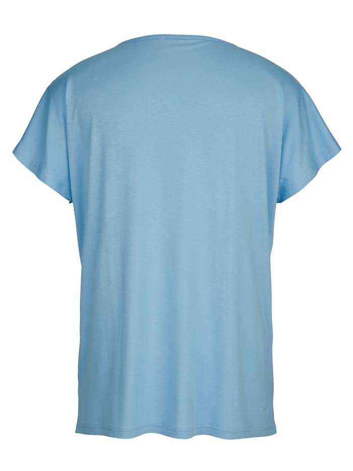 Shirt met hoogwaardig bloemendessin