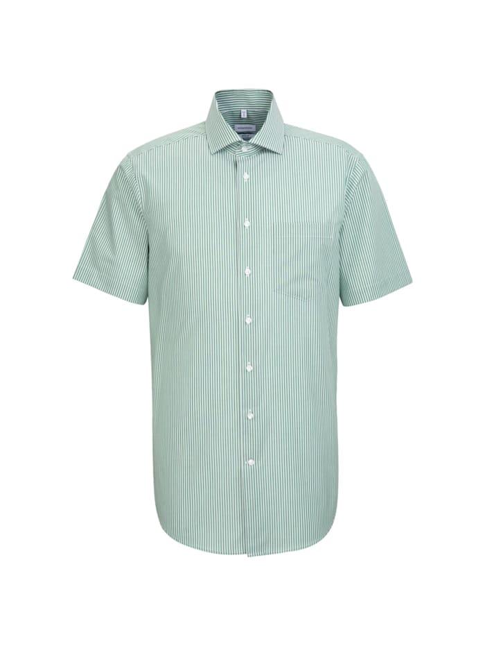 Seidensticker Business Hemd ' Regular ', grün (0075)