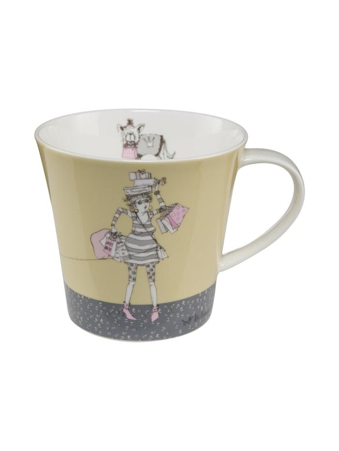 """Goebel Goebel Coffee-/Tea Mug Barbara Freundlieb - """"Die tut nix"""", Die tut nix"""
