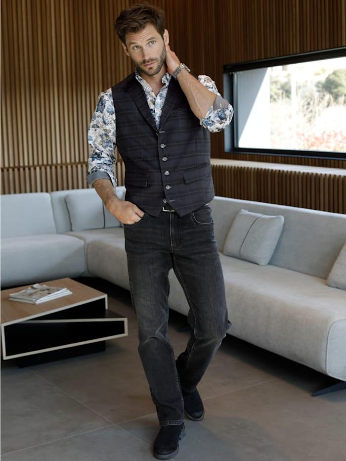 BABISTA Jeans im Used-Look, Schwarz