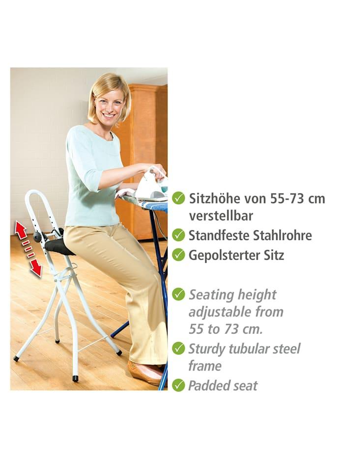 Bügel- und Stehhilfe, höhenverstellbar