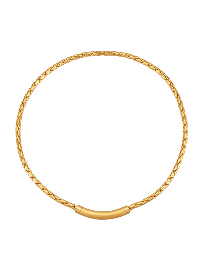 Golden Style Venetiaans collier verguld, Geelgoudkleur