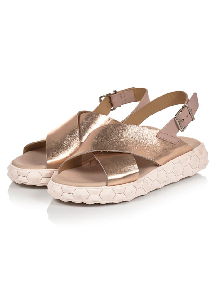 REKEN MAAR Sneaker Sandale, Rosé