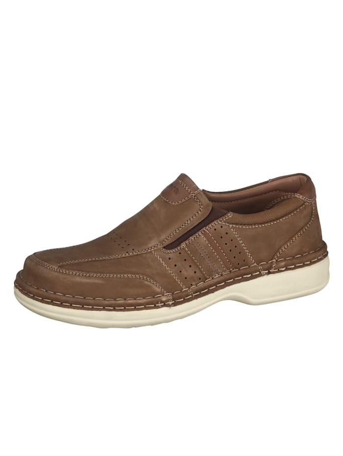Ara Slipper in Spezialweite K für kräftige Füße, Braun