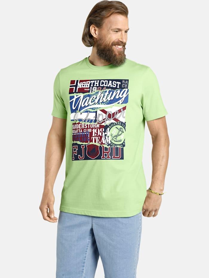 Jan Vanderstorm Jan Vanderstorm T-Shirt TAGE, grün