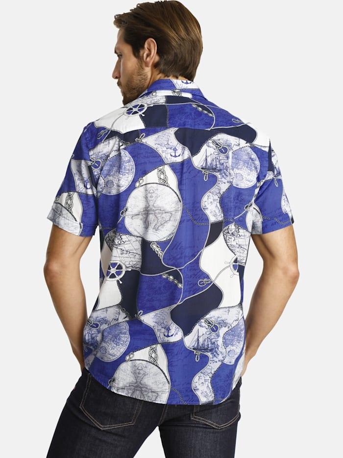 Shirtmaster Kurzarmhemd aroundtheworld