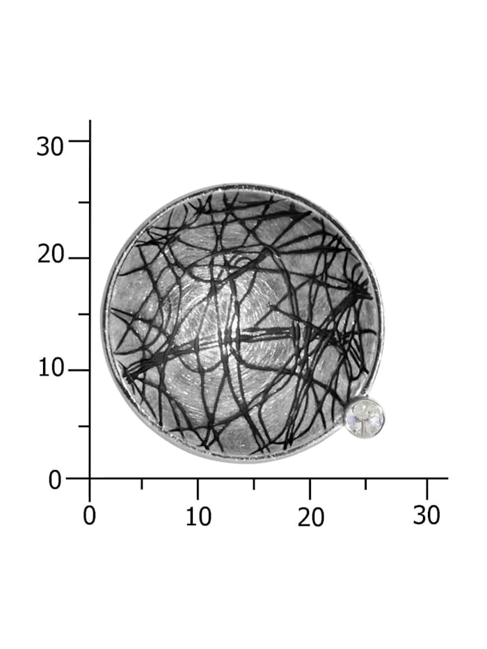 Anhänger - Gleiter 24 mm-Sarah Vicenza - Silber 925/000 - Zirkonia