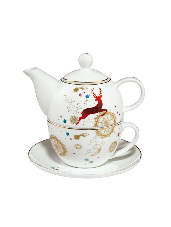 "Goebel Goebel Tea for One Weihnachten - ""Mandala"", Mandala"
