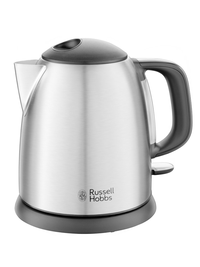 Russell Hobbs RUSSELL HOBBS Adventure Mini waterkoker, zilverkleur/zwart