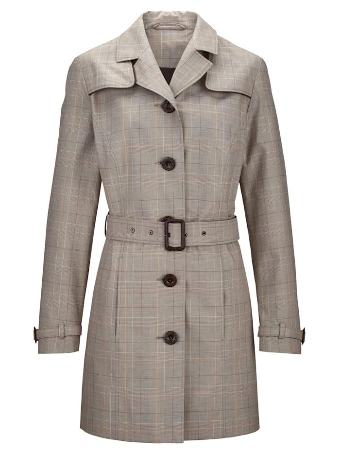 Trench-coat en pur coton