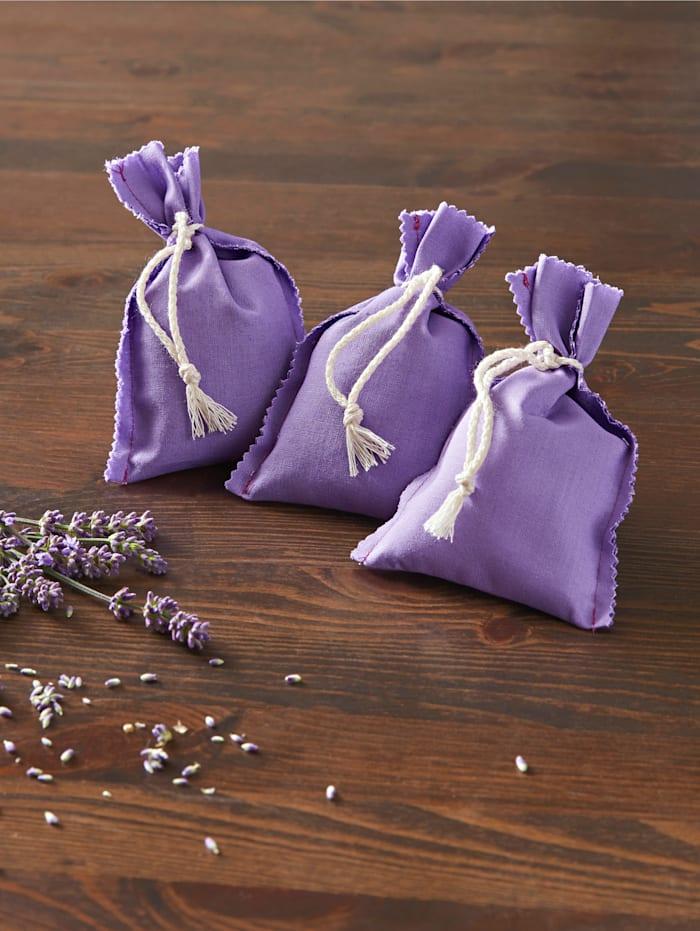 Set van 3 lavendelzakjes