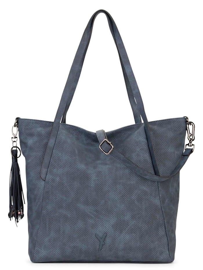 SURI FREY Shopper Romy Uni, blue 500