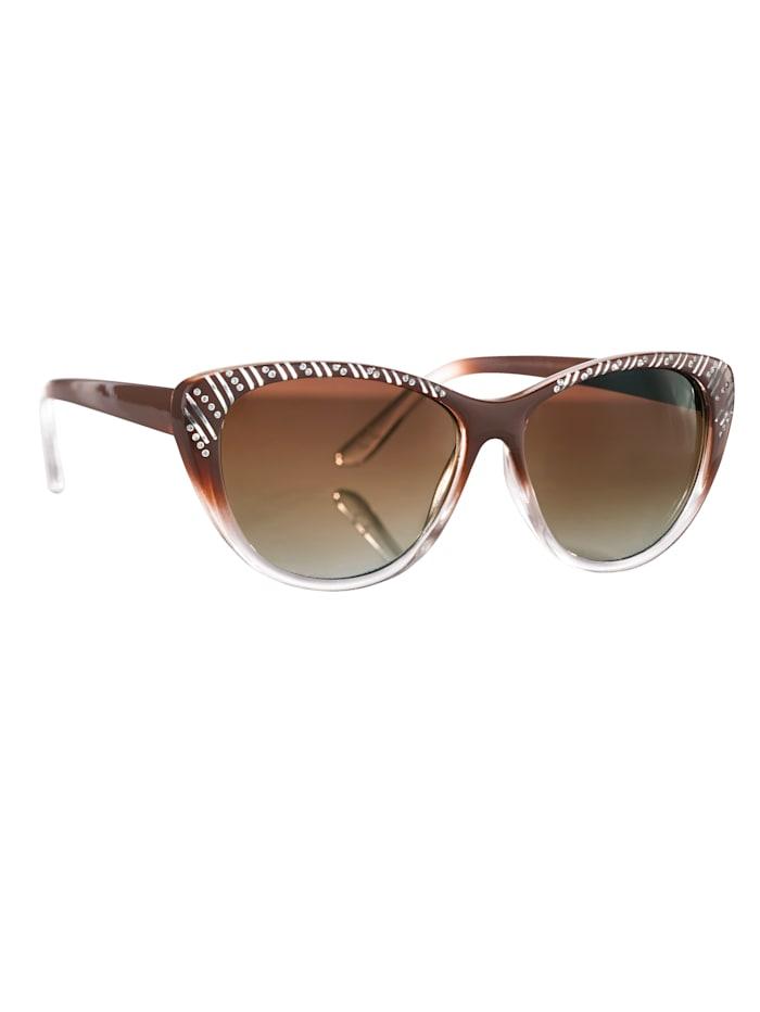 Slnečné okuliare, hnedá