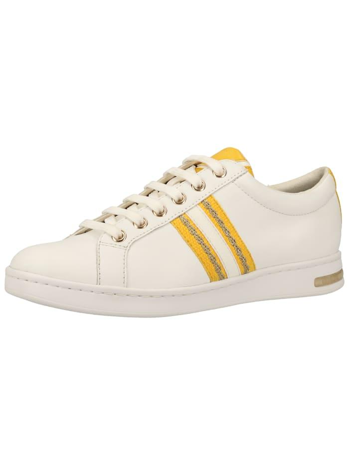 Geox Geox Sneaker, Weiß/Gelb