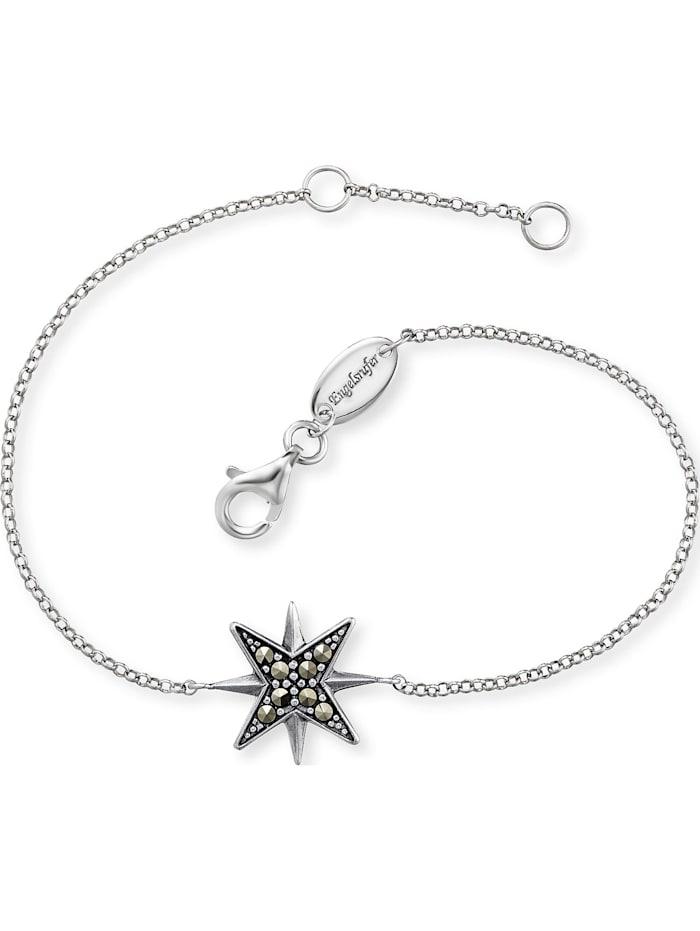Engelsrufer Engelsrufer Damen-Armband Stern 925er Silber, silber