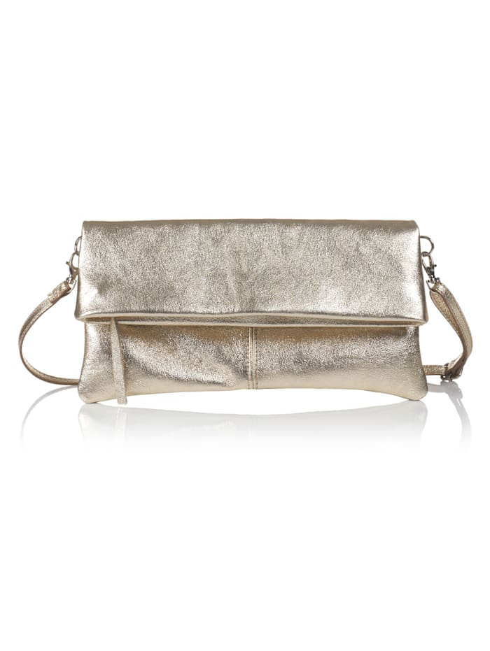 SIENNA Clutch, Gold