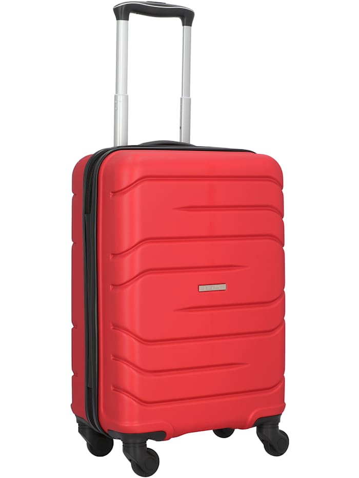 NOWI Milano 5.0 4-Rollen Kabinentrolley 55 cm, rot