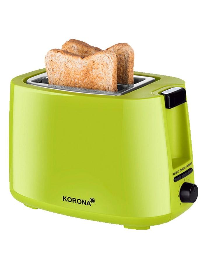 Korona Automatik-Toaster 21133, für 2 Brotscheiben, grün, grün