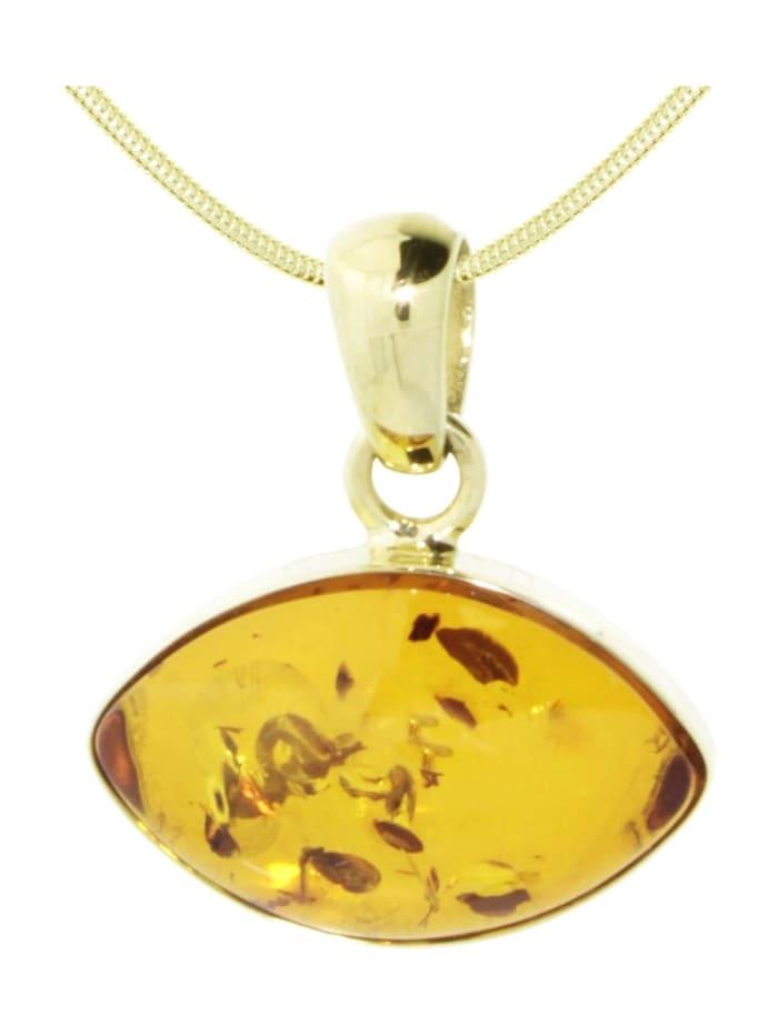 OSTSEE-SCHMUCK Kette mit Anhänger - Marfa - Gold 333/000 -, gold