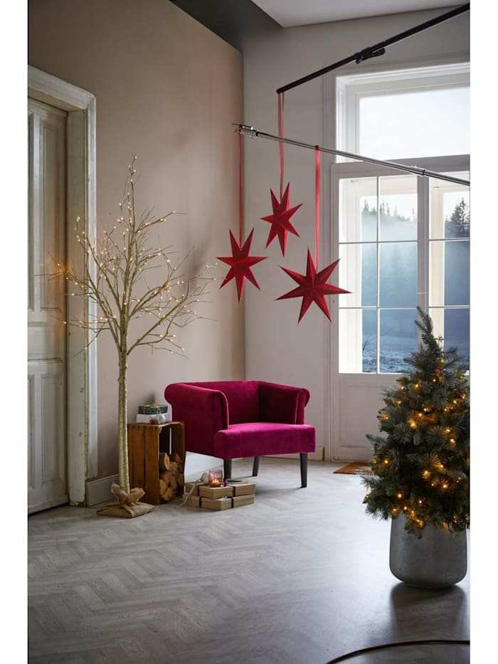 Living LED-Baum, Goldfarben