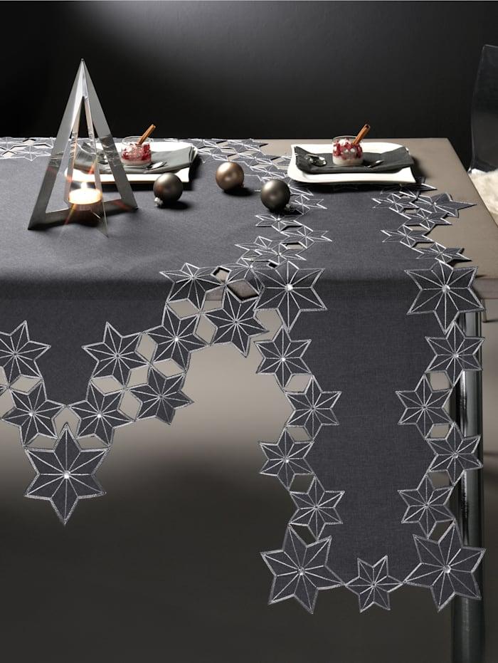 Webschatz Tafellinnen Lynn, grijs