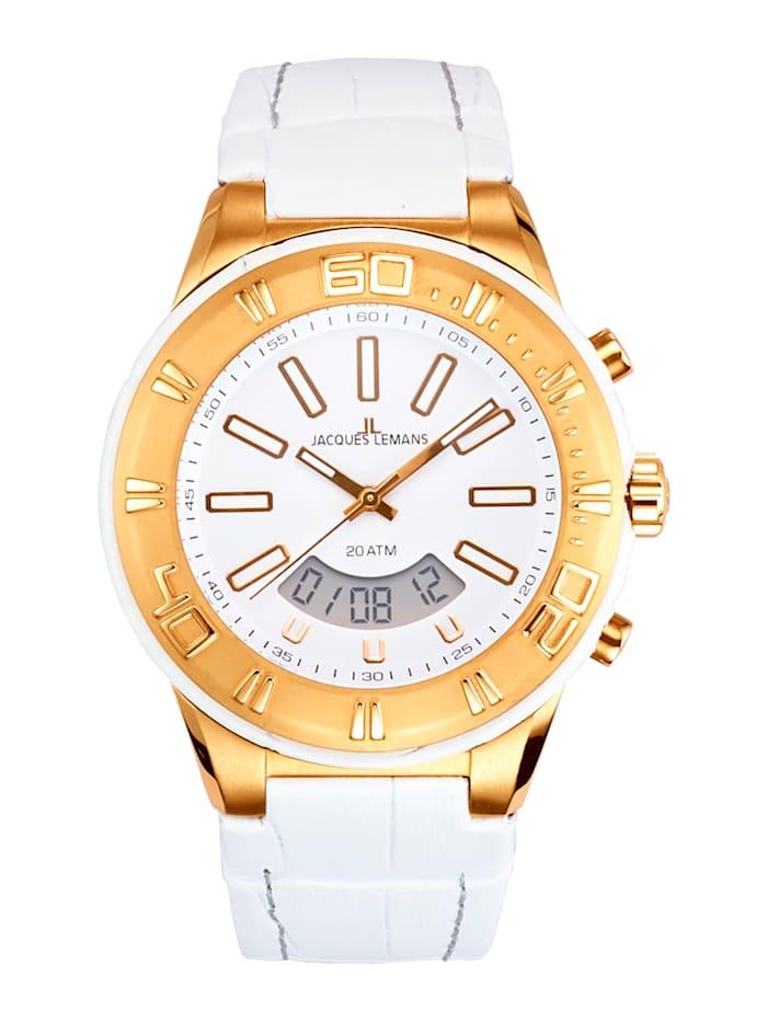 Jacques Lemans Horloge 1-1772F, Roze