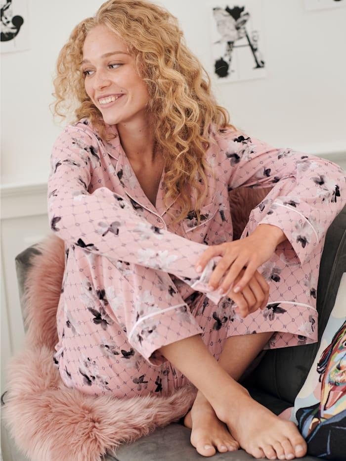 Pyjama mit Blütenprint
