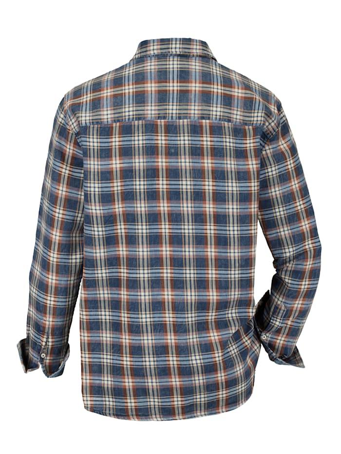Overhemd met omslagmouwen