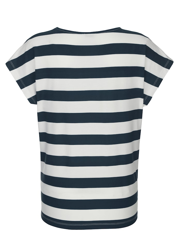 Shirt met streepdessin