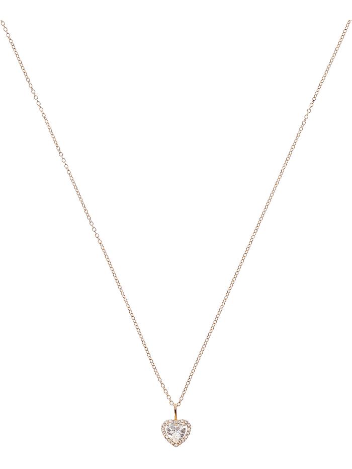 FAVS. FAVS Damen-Kette 375er Gelbgold 20 Zirkonia, gold
