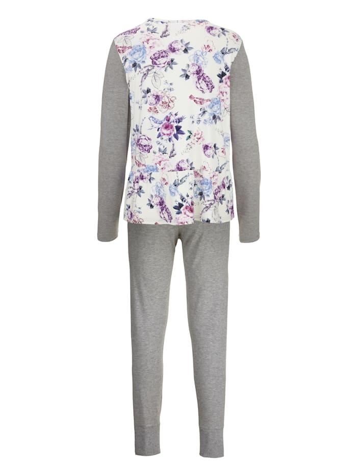 Pyjama – takaa kukkakuvioitu paita