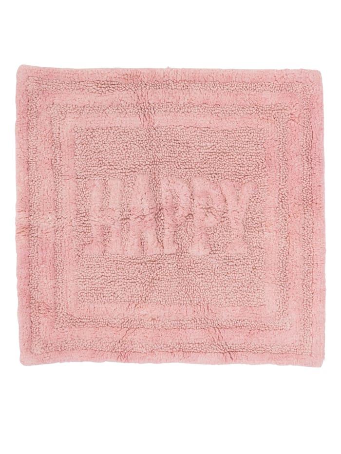 IMPRESSIONEN living Badematte, Happy, Rosé