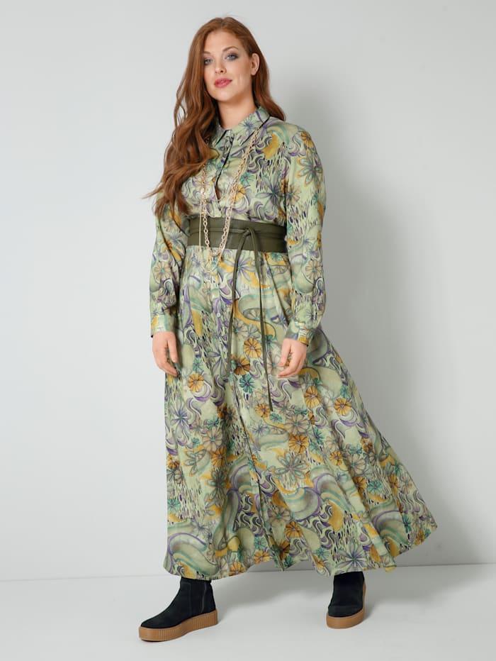 Šaty v kašírujúcom strihu do A